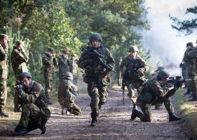 Grondoptreden/ Mechatronica /Logistiek (VEVA & Defensie)niv: 2,3 lokaal: T205